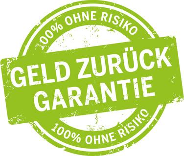 Grner Button Geld Zurck Garantie