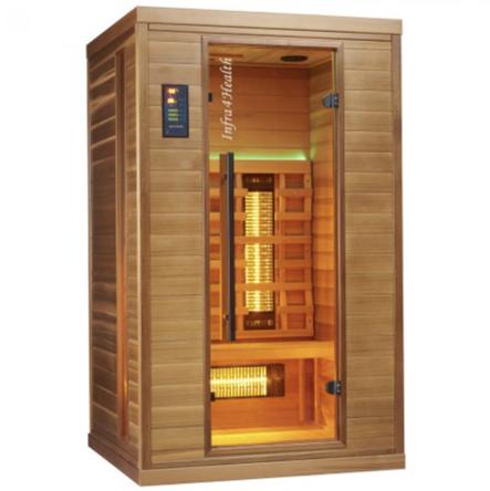 Infrarot Sauna 2 Personen Infra 4 Health_vorn